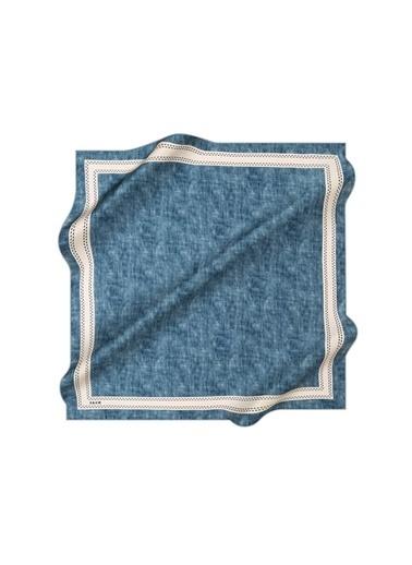 Aker Esarp Eşarp Mavi